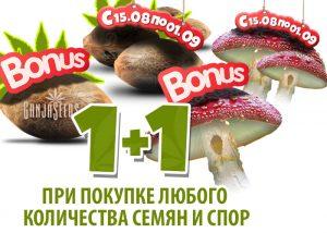 Акция от Ganja Seeds: все заказы х2