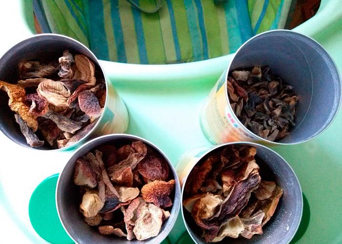 Употребление грибов в пищу